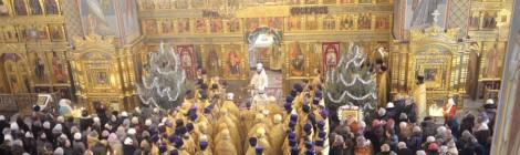 Соборное богослужение в г. Губкине